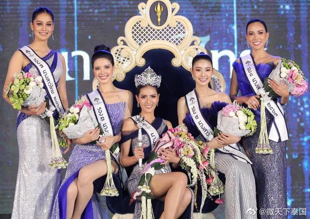 2020泰国小姐冠军出炉 系27岁学生纳塔帕气质绝佳