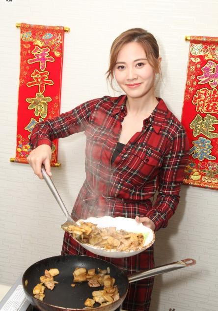朱晨丽晒厨艺