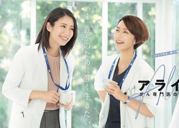 木村佳乃(右)主演的醫療劇,要另覓醫院拍攝