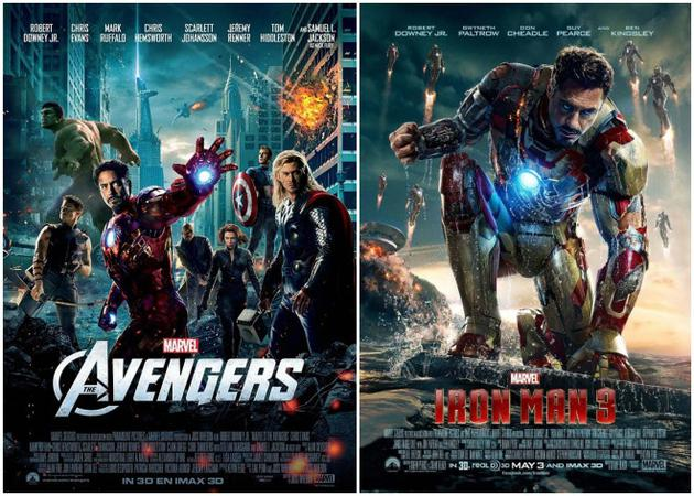 《复联》和《钢铁侠3》将在香港重映