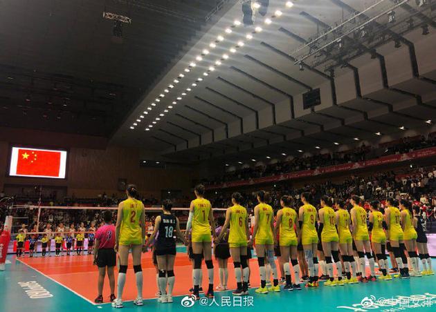 中国女排世界杯七连胜