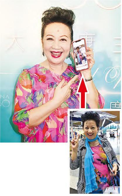 薛家燕称女人谈恋爱可保青春,与11年前(右)照片中对比觉得自己愈发年轻