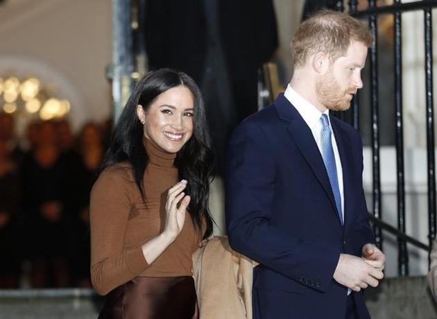哈里王子夫婦宣布退出王室 在財務上實現獨立
