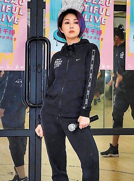 """楊千嬅表示十戒中最難實行便是戒""""生氣"""""""