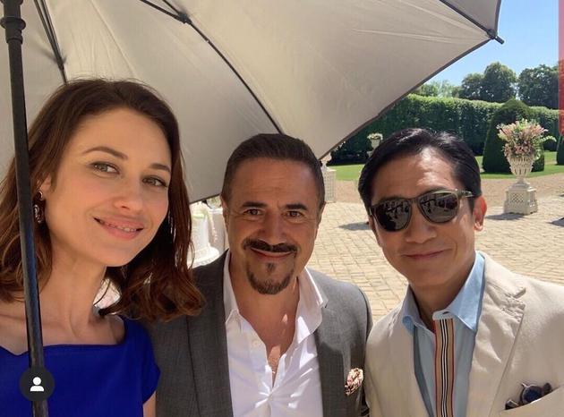 梁朝伟正在巴黎拍摄《猎狐行动》