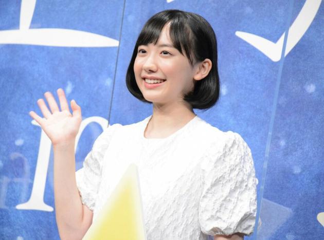 9月3日东京芦田爱菜出席电影《星之子》完成报告见面会