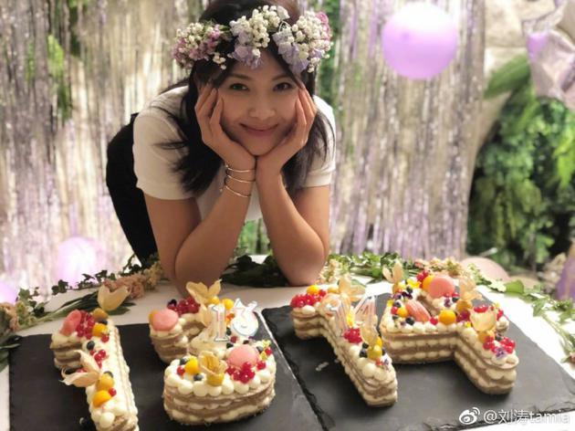 7月12日是刘涛生日