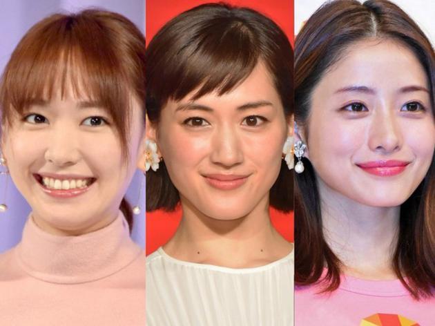 日本评选最想看这个明星拍剧排行榜 绫濑遥夺冠