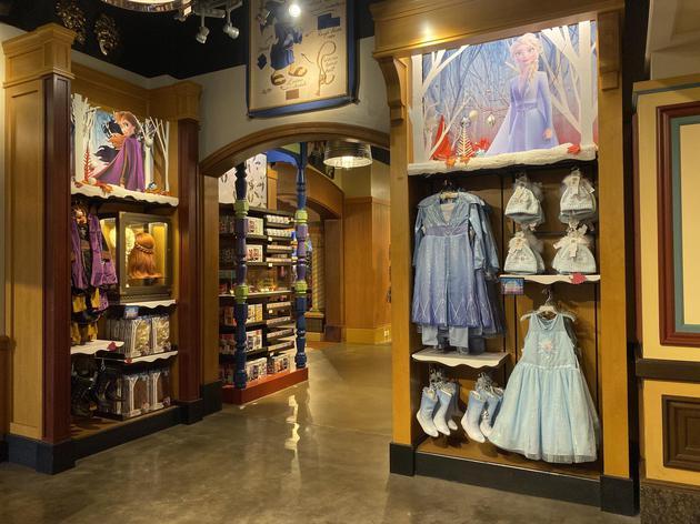 迪士尼《冰雪奇缘》公主服饰