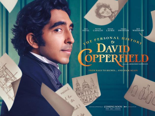 影片《大卫·科波菲尔的个人史》海报。