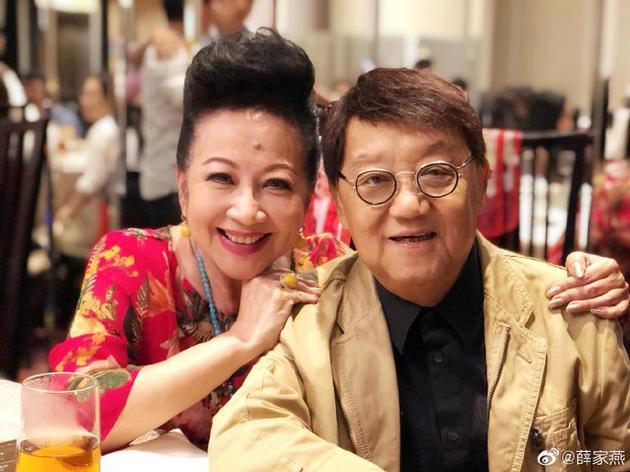 薛家燕和黎小田