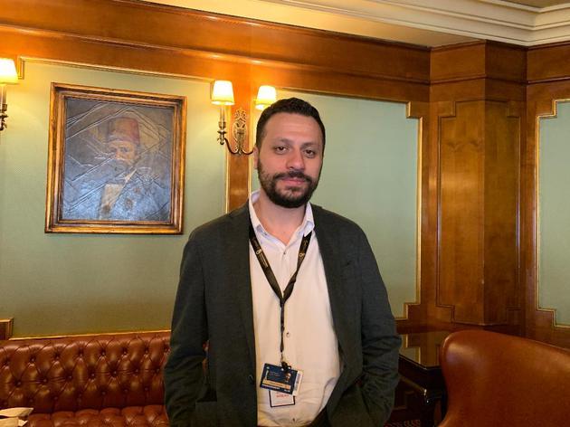 开罗电影节艺术总监Amed Shawky