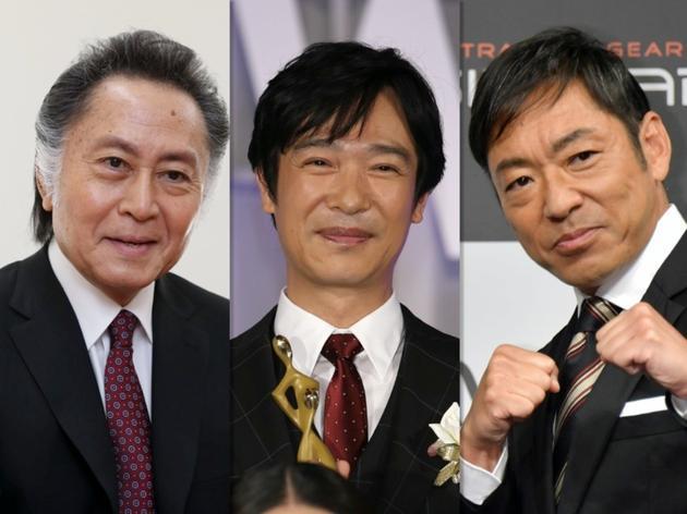日剧《半泽直树2》演员北大路欣也、堺雅人、香川照之