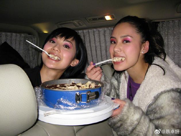 蔡卓妍和阿娇