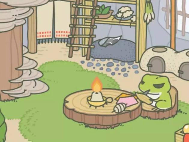游戏《旅行青蛙》