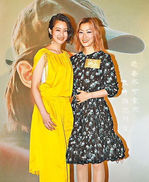 郑秀文(右)指拍档赖雅妍无辣不欢。