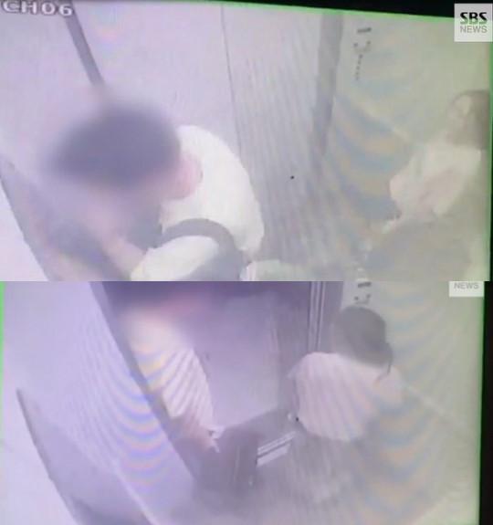 具荷拉事件监控视频公开 男友在电梯内抽烟引争议
