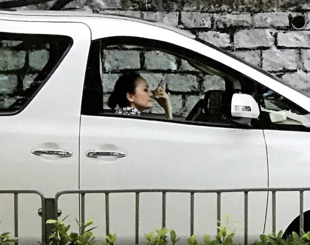 张柏芝妈妈近况曝光 开网约车等一小时没接到单