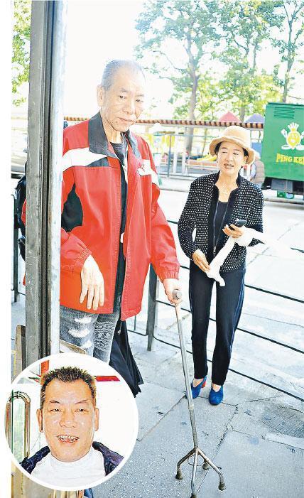 祥嫂昨天(11月29日)前去拜访近年身体欠佳的李兆基,年轻时很饱满的李兆基(圆图),现在瘦了不少