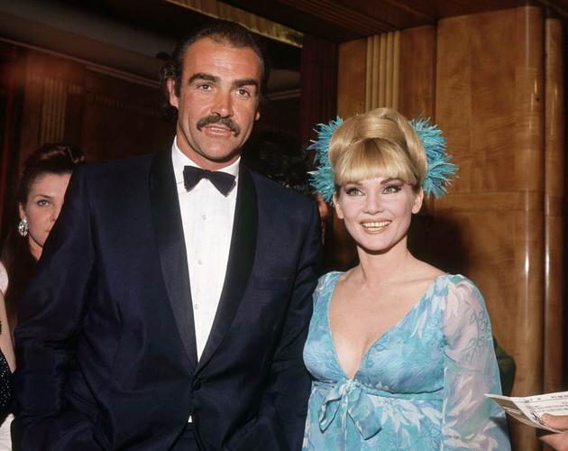 肖恩·康纳利与第一任妻子Diane Cilento婚姻最终不欢而散