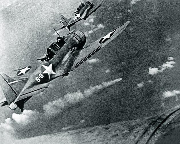 那时的丧胆式俯冲轰炸机