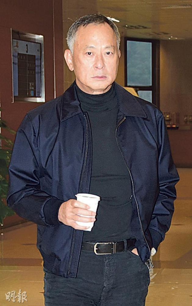 杜琪峰送别好友林岭东。