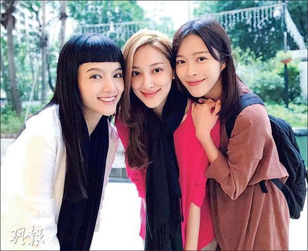 陈嘉宝(左首)、陈凯琳和赖慰玲,期待下一代也能成为益至交