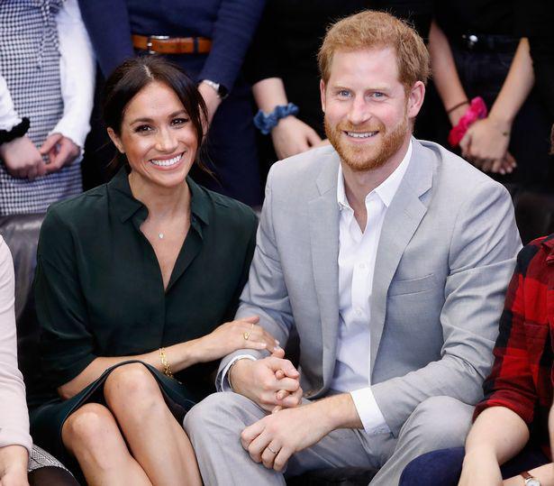 哈里王子与梅根