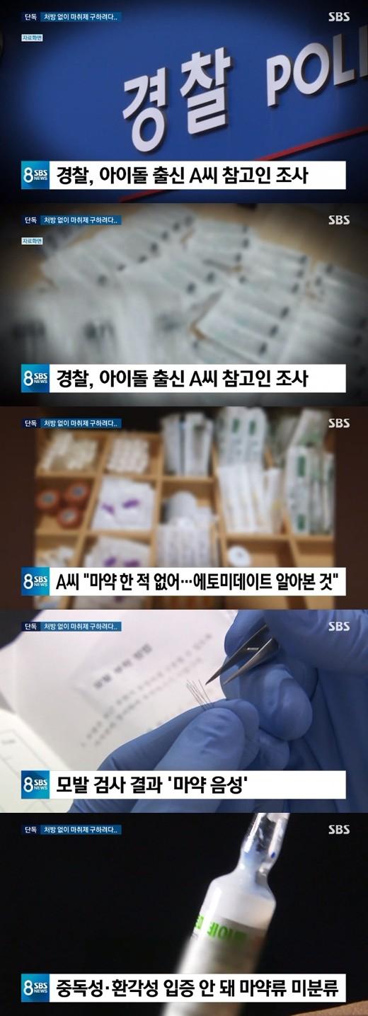 韩艺人试图非法购买麻醉药被调查 未测出毒品反应
