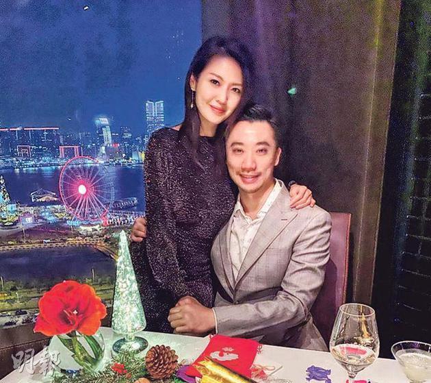陈庭欣(左)表示绝对信任男友杨振源。