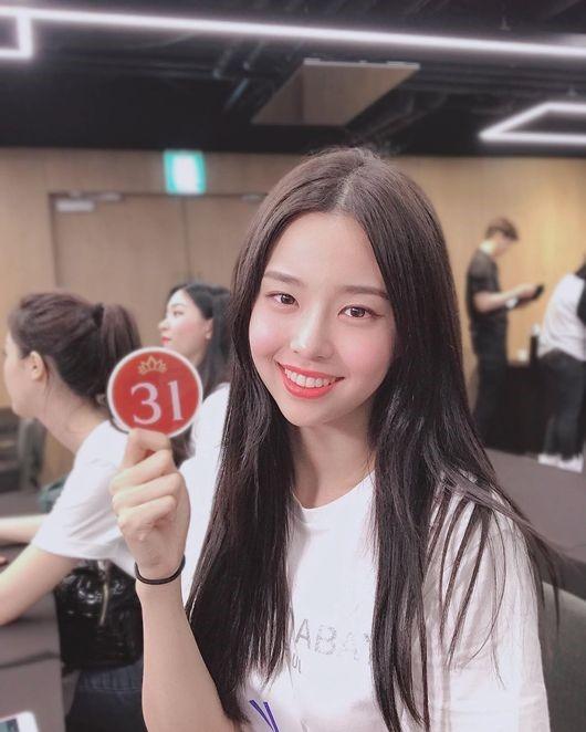 2019韩国小姐大赛冠军金世妍
