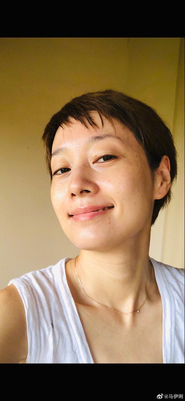 马伊琍迎43岁生日发长文 晒纯素颜照片满怀期待
