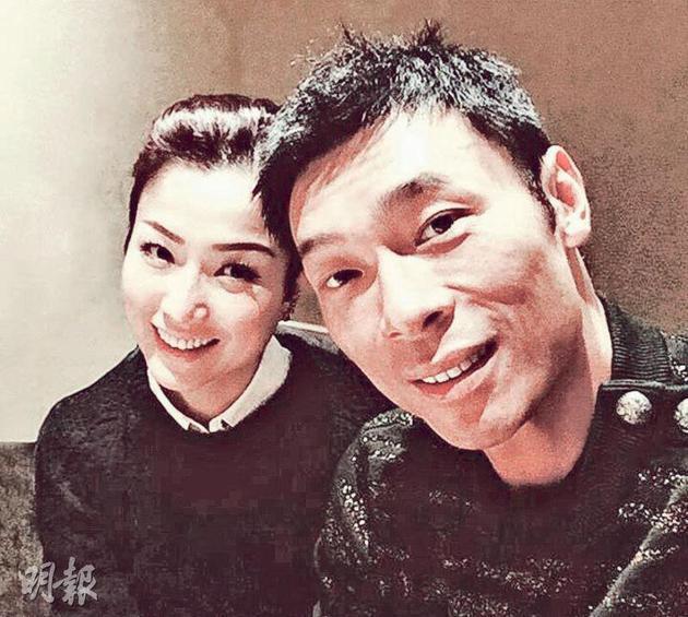 """许志安(右)在""""放心事件""""获妻子郑秀文谅解,但事业仍处于收工状态。"""