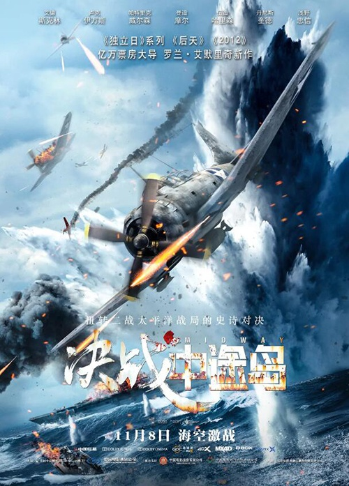 《决战中途岛》海报