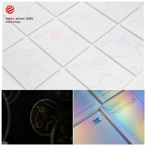 防弹少年团专辑获红点设计大奖 用花描述爱情过程