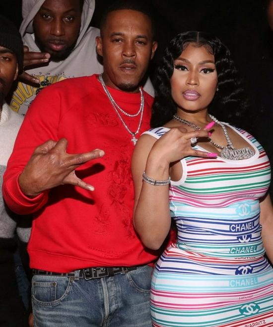 Nicki Minaj和肯尼斯·佩蒂