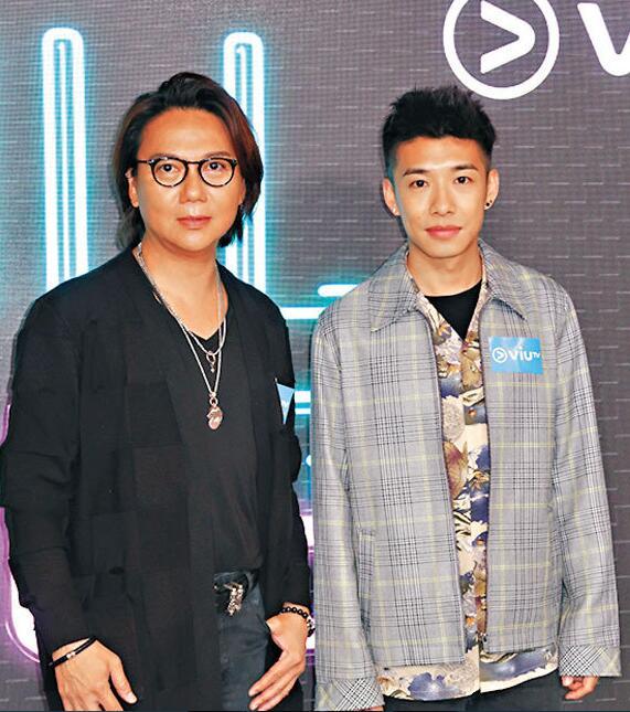 吴国敬(左)与洪嘉豪
