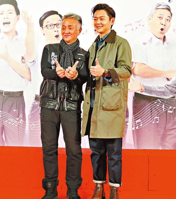 吴岱融和张振朗出席活动。
