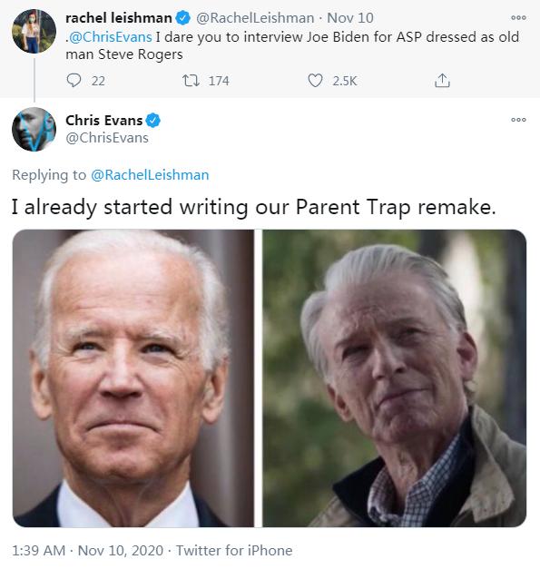 埃文斯幽默回应网友