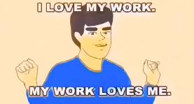 蓝盈莹分享小蓝孩爱工作鬼畜视频:仿佛看到自己