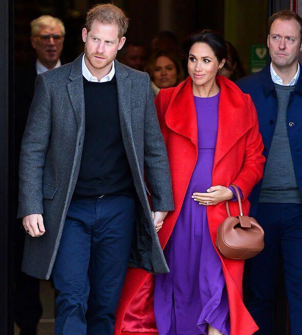 哈里王子夫妇旧照
