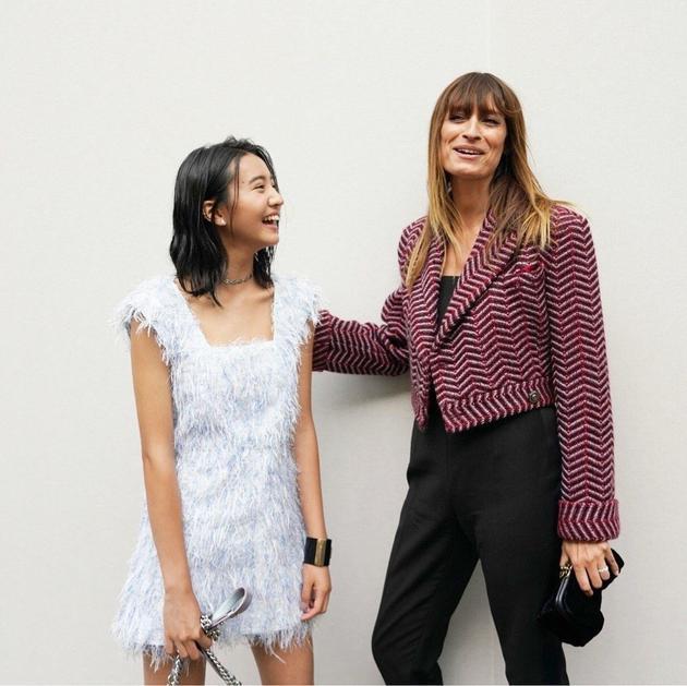 木村光希最近现身巴黎时装周。