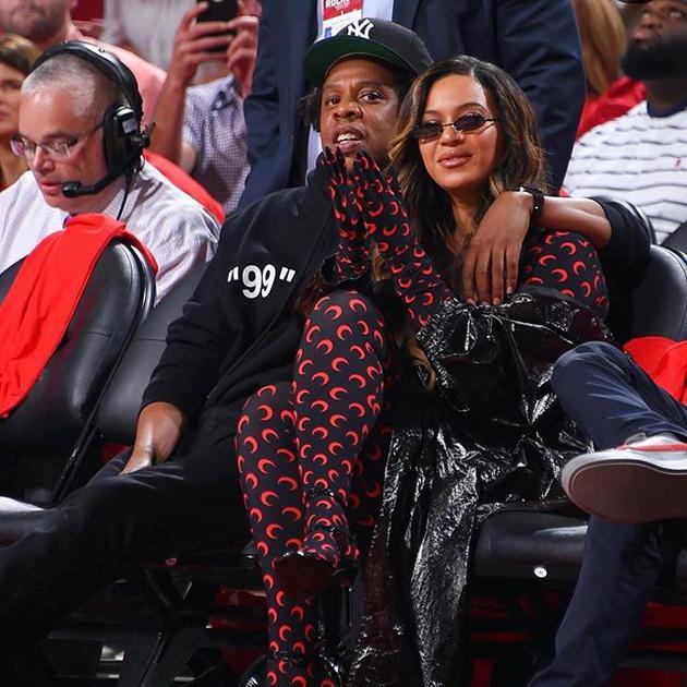 碧昂丝和老公Jay Z