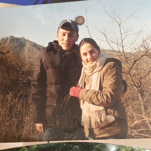 刘烨与安娜在2006年的合影