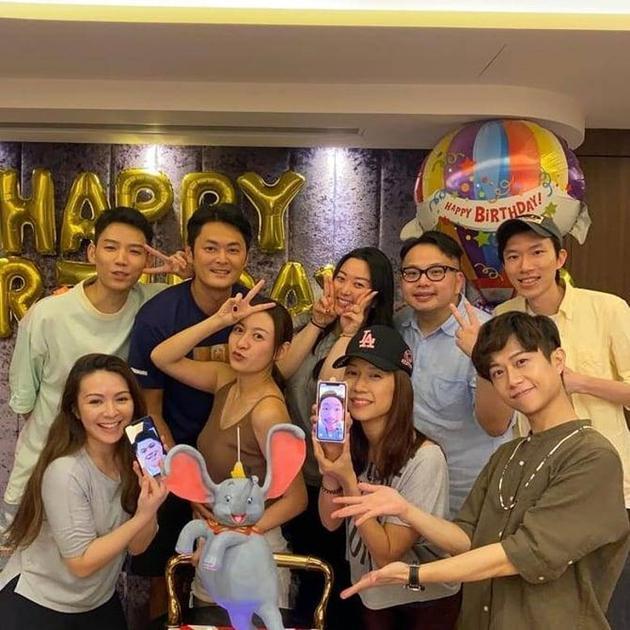 江若琳和朋友们