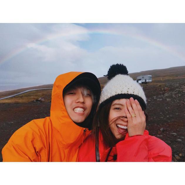 林宥嘉丁文琪結婚三周年分享蜜月照