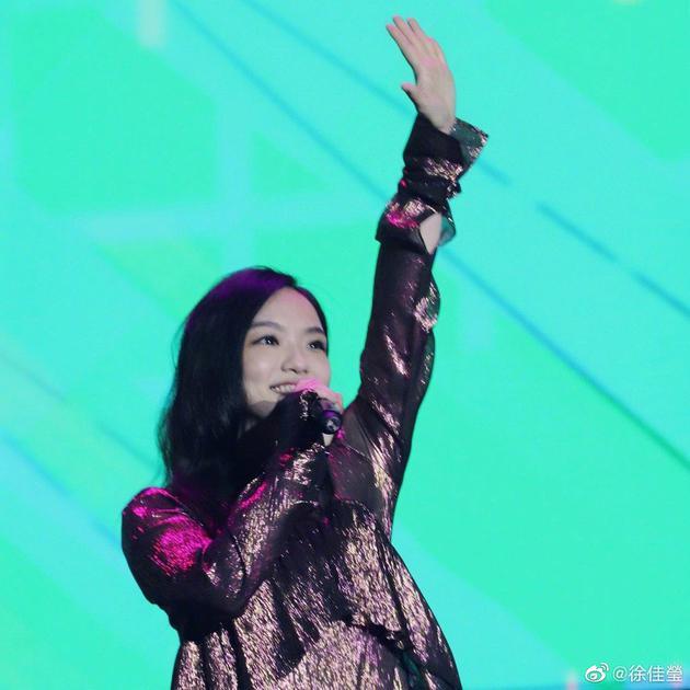 徐佳莹怀孕后将首次登台开唱 自称会是很好的胎教