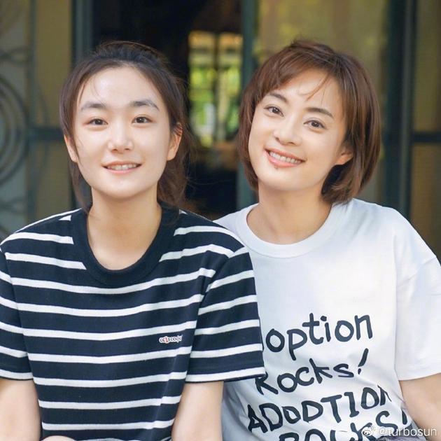 妹妹孙艳将到北京上学 孙俪分享二人旧事不舍告别