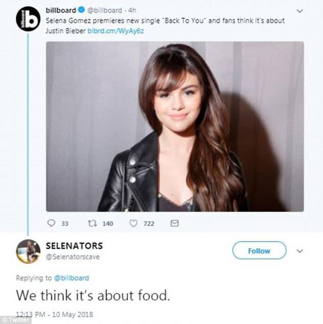 赛琳娜新歌发布 被指歌词反映了与比伯的感情纠葛