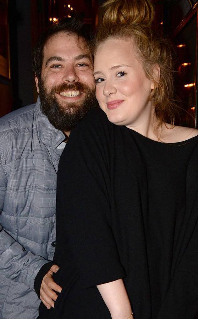 阿黛尔与老公Simon Konecki